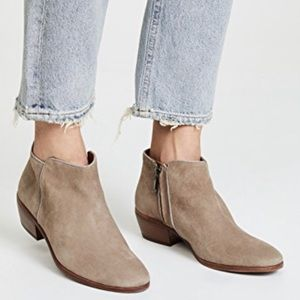 Sam Edelman Petty Suede Tan Ankle Booties/Boots8.5